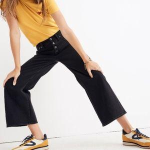 MADEWELL | Wide Leg Crop Jeans